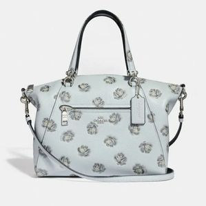 Coach Prairie Satchel Rose Print